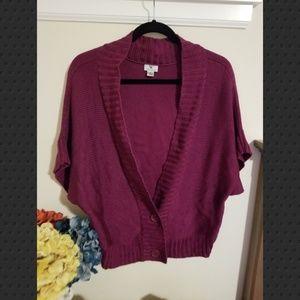 Worthington size xl purple sweater.